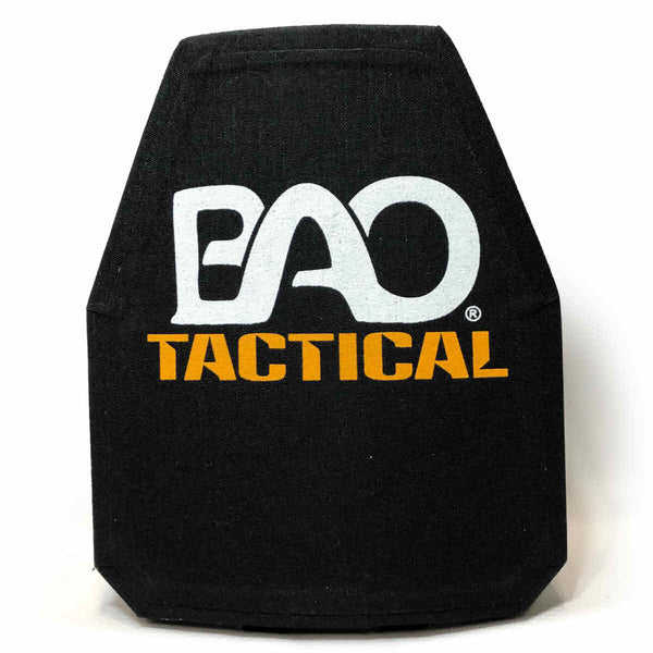 BAO Tactical 4401SH Level IV 10x12 Plate, Standalone, Shooters Cut, Single Curve