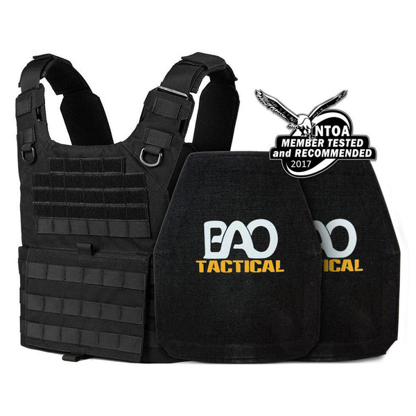 BAO Tactical 10x12 Level IV Dynamic Active Shooters Kit, Black