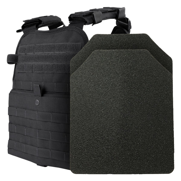 BAO Tactical 10x12 Level III MOPC Active Shooters Kit, Black
