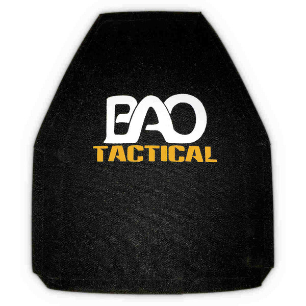 BAO Tactical 3410 Level III+ Hard Armor Plate, Stand Alone, Shooters Cut, Single Curve