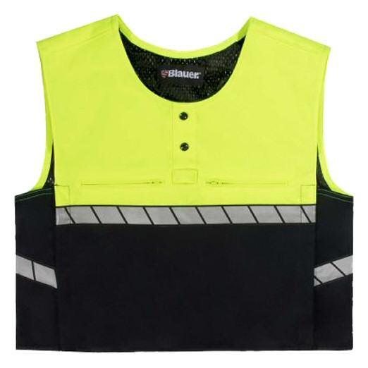 Blauer Armorskin ColorBlock Polo Carrier, Dark Navy / Hi-Vis Yellow