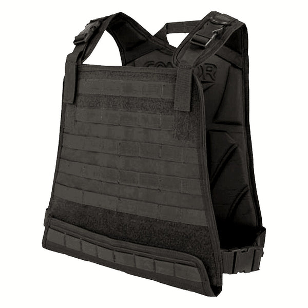 Condor Compact Plate Carrier, Black, 10x13 - 35