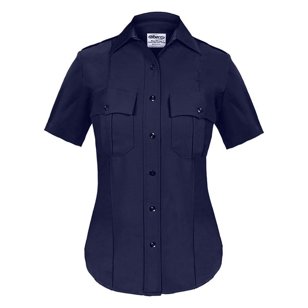 Elbeco TexTrop Long Sleeve Shirts in Ladies Choice, Dark Navy