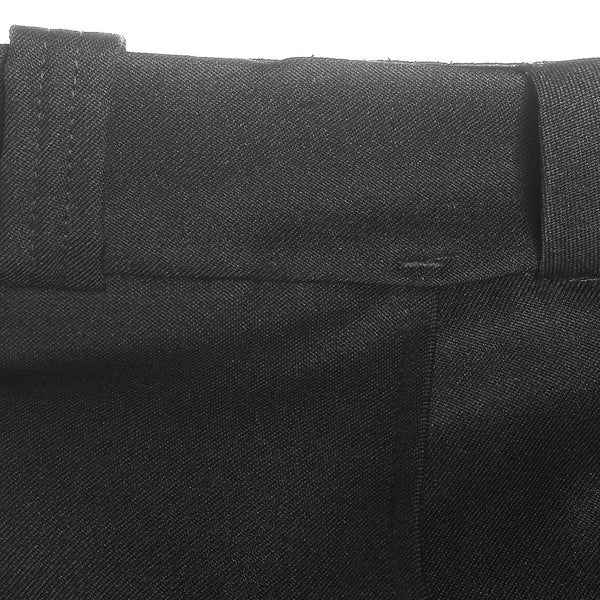 Elbeco TexTrop2 4-Pocket Trousers for Men, Waist: 40, Hem to 30 Inches, Black