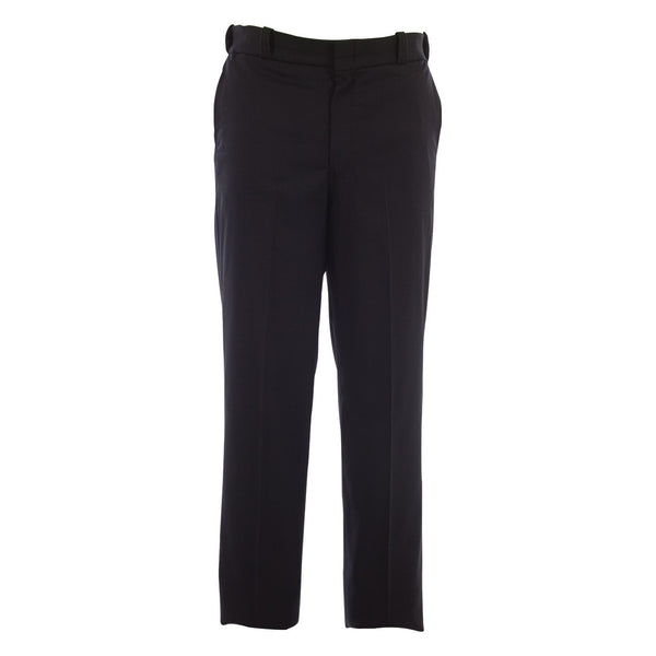 "Elbeco Distinction Straight Front Pant for Men w/ 1/4"" Black Braid, Dark Navy"