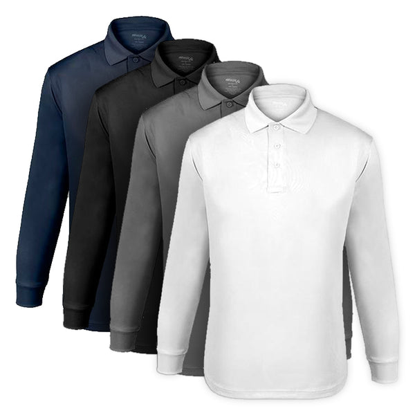 Elbeco UFX L/S Polo, Men's Performance Tactical