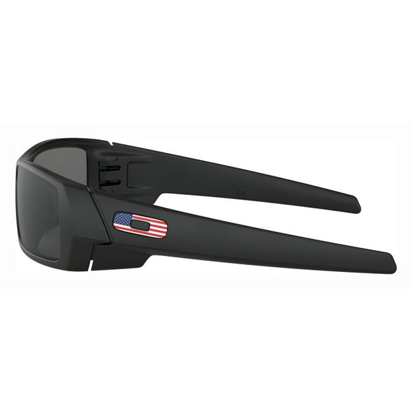 Oakley SI Gascan w/ US Flag Icon, Matte Black w/ Grey Lenses