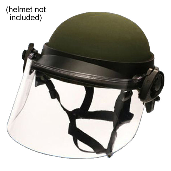 Paulson DK5 Clear Riot Faceshield, .250AF, 6in
