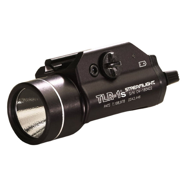 Streamlight TLR-1s LED Rail Mounted Flashlight with Strobe Function and Rail Locating Keys