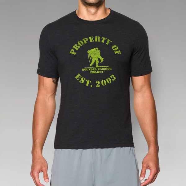 Under Armour Property Of WWP Tee