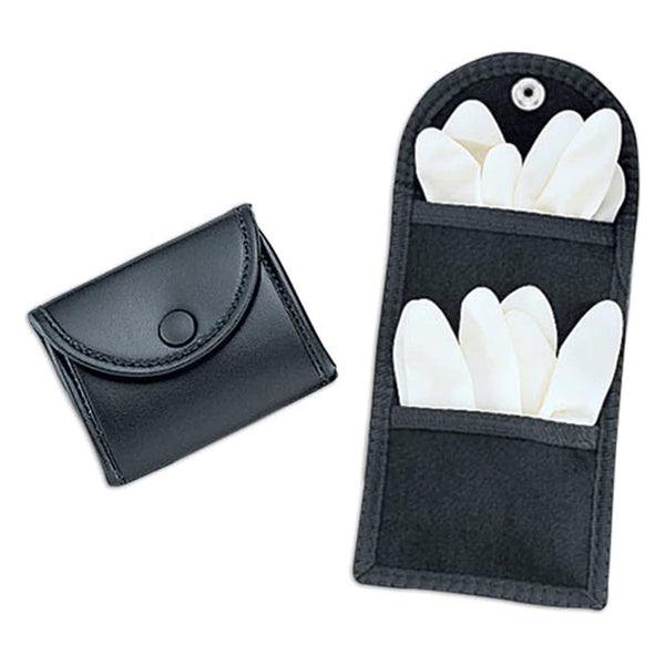 Uncle Mike's Double Latex Glove Snap Pouch, Kodra Black