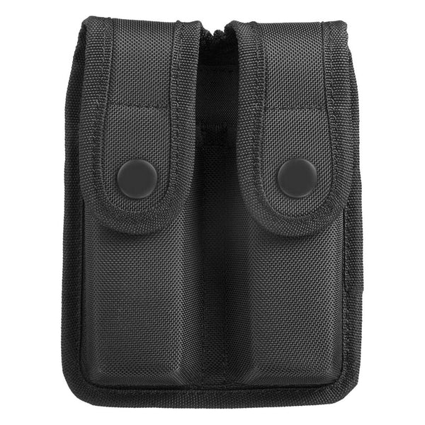 Uncle Mike's Sentinel Molded Nylon Double Magazine Case, Black