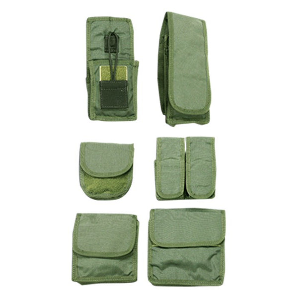 US Armor USBP Pouch Kit, Black