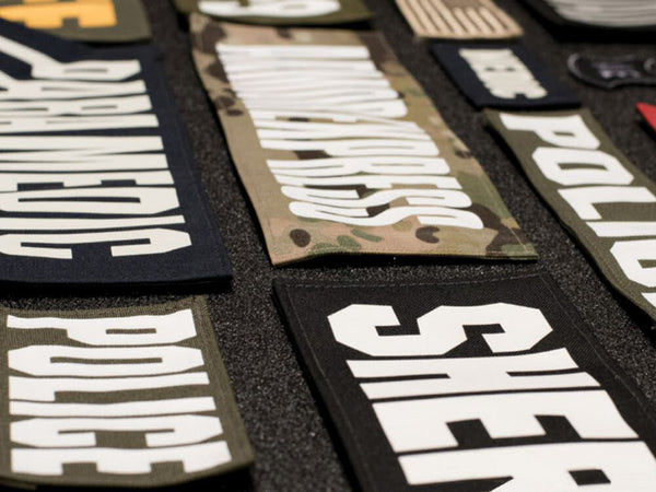 Armor Express Individual ID Tags - for AE Body Armor ONLY