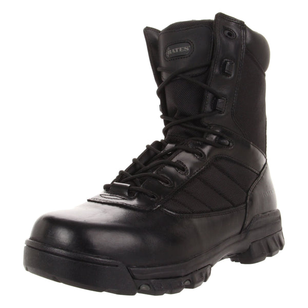 "Bates 8"" Tactical Sport Side Zip Black Boots"
