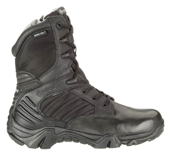 Bates GX-8 Gore-Tex Insulated Side Zip Black Boots