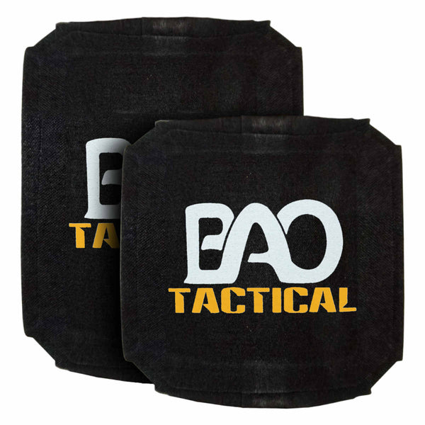 BAO Tactical 4100SPS Hard Armor Side Plate, Level IV, SA, Full Cut, Single Curve