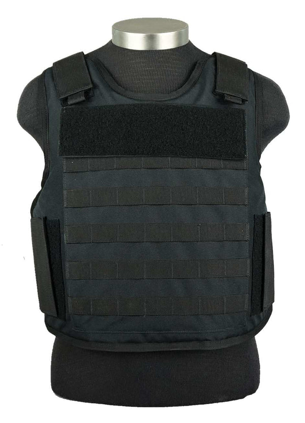 BAO Tactical's Molle Outer Carrier IIIA body armor - front