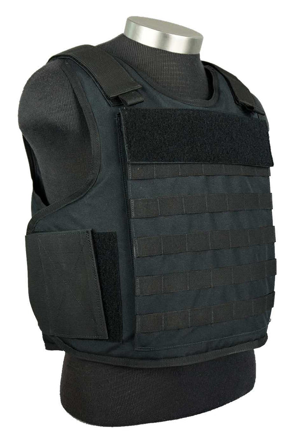 BAO Tactical's Molle Outer Carrier IIIA body armor - right front quarter