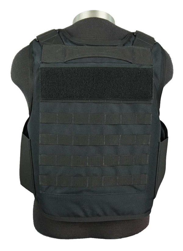 BAO Tactical's Molle Outer Carrier IIIA body armor - rear