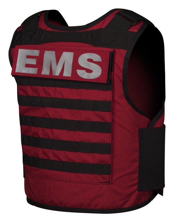 BAO Tactical's Firefighter IIIA body armor - rear quarter