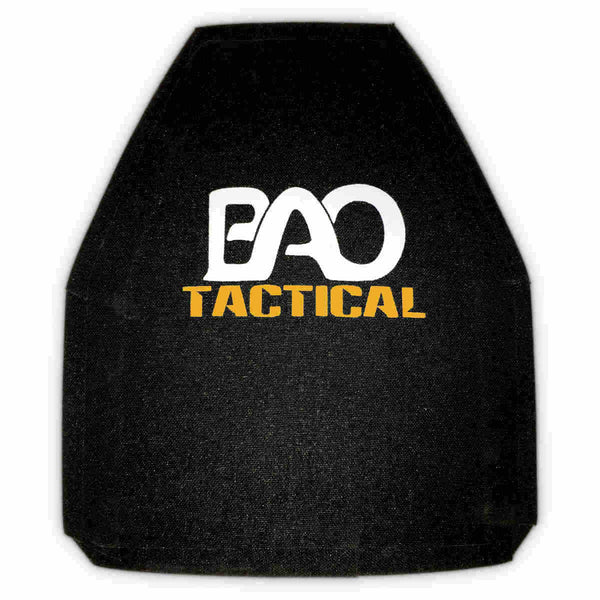 BAO Tactical 3810 Hard Armor Plate - III+, SA, 10x12, Shooter Cut, Multi-Curve