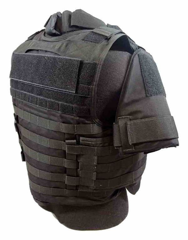 BAO Tactical Arbiter Base Vest with IIIA - right rear view