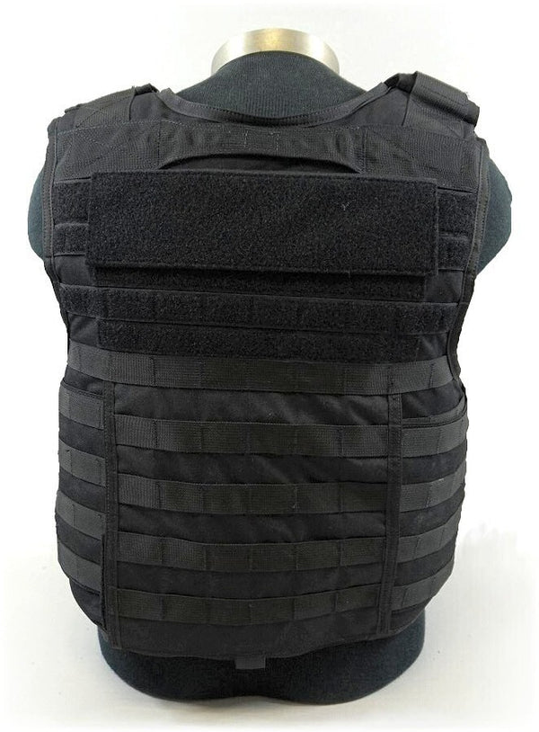 BAO Tactical Arbiter Base Vest with IIIA - rear view