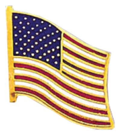 Blackinton American Flag Pin from Body Armor Outlet