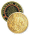Blackinton 1 3/4in St. Florian Challenge Coin - Gold Plate