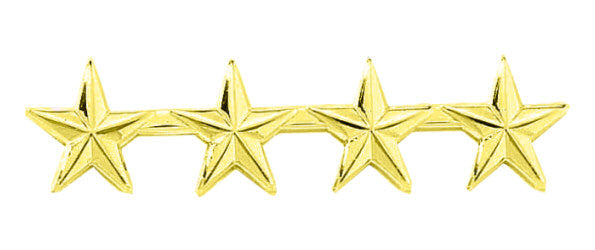 Blackinton Four Small Stars Pin