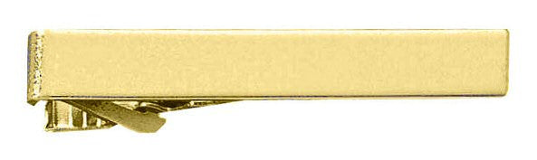Blackinton Plain Tie Bar - gold tone finish