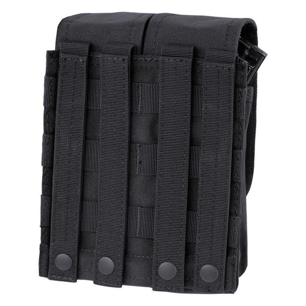 Condor Double AR/AK Mag Pouch, rear view
