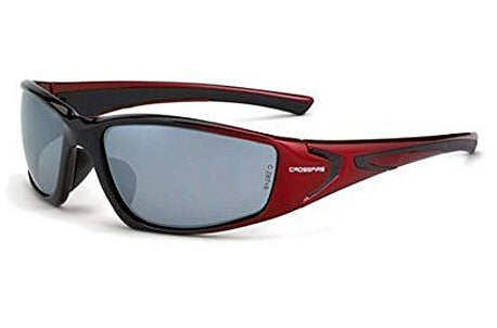 RPG SILVER MIRROR LENS, SHINY BLACK/PEARL RED FRAME