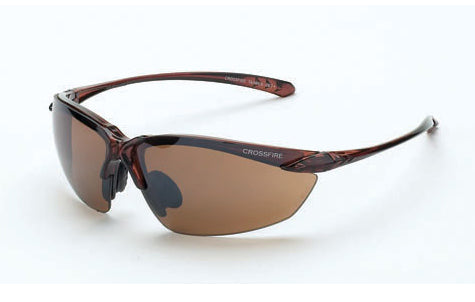 Crystal Brown Frame, HD Brown Flash Mirror Lens