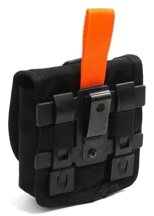 Eleven 10 Visor Mount Attachment for MOLLE pouches, Black