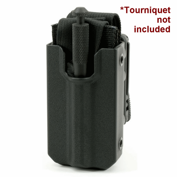 Eleven 10 SLICK FRONT RIGID TQ Case for SOFTT/SOFTT-W, MOLLE (Malice Clip) Black - main image