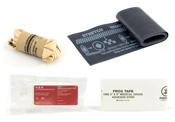 Eleven 10 SABA Kit Contents, Compressed Gauze