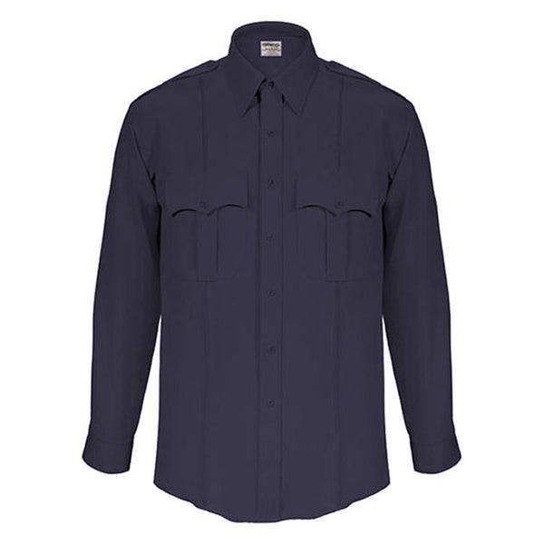 Elbeco TexTrop Dark Navy Long Sleeve Shirt for Men