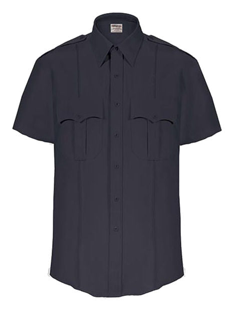 Elbeco TexTrop Dark Navy S/S Shirt, Men's