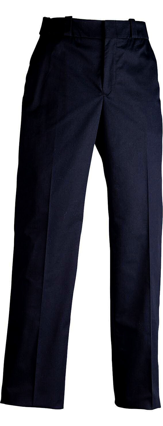 "Elbeco TexTrop2 Men's 4 Pocket Trousers w/ 1/4"" Black Braid, Midnight Navy - main image"