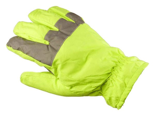 GFP Hi-Vis Traffic Glove - palm
