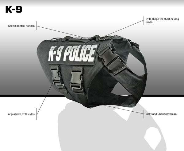 Armor Express K9 Vest Dual Purpose/Corrections (tags not included)