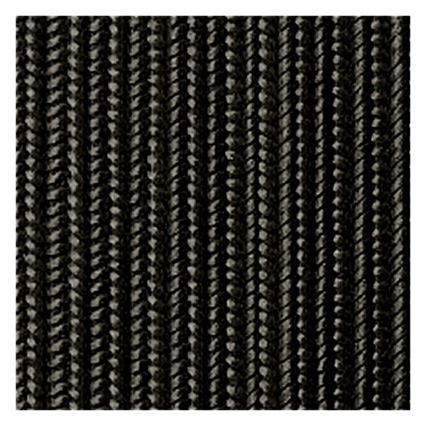 ELC Industries Plain Flat Nylon Rice Braid, Black, 42 yds X 1 inch