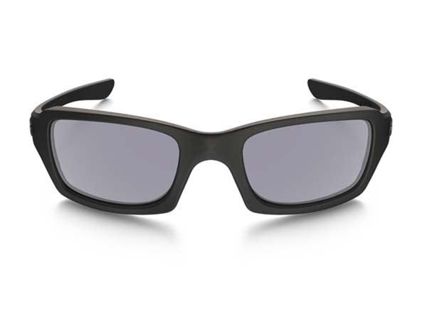 Matte Black w/ Grey Polarized - Front