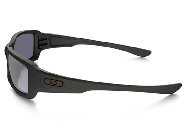 Matte Black w/ Grey Polarized - Side