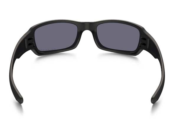 Matte Black w/ Grey Polarized - Rear