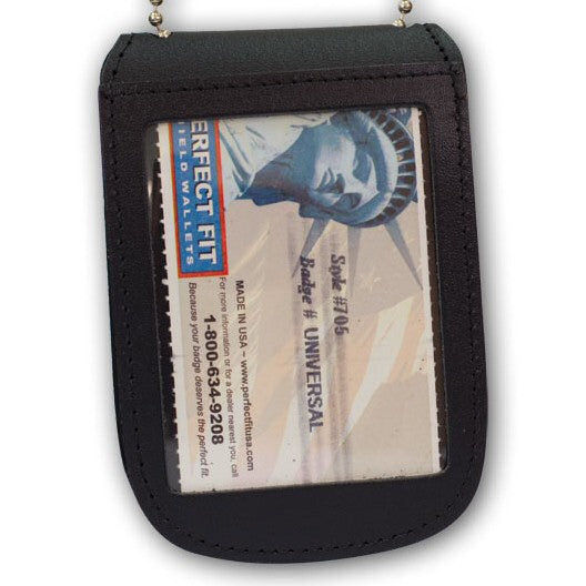 Perfect Fit Universal Badge and ID Neck Holder, Velcro Closure