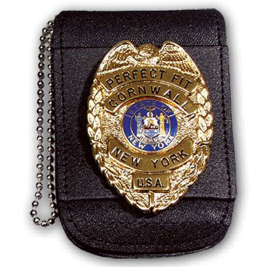 Perfect Fit Universal Badge and ID Neck Holder, Magnetic Closure
