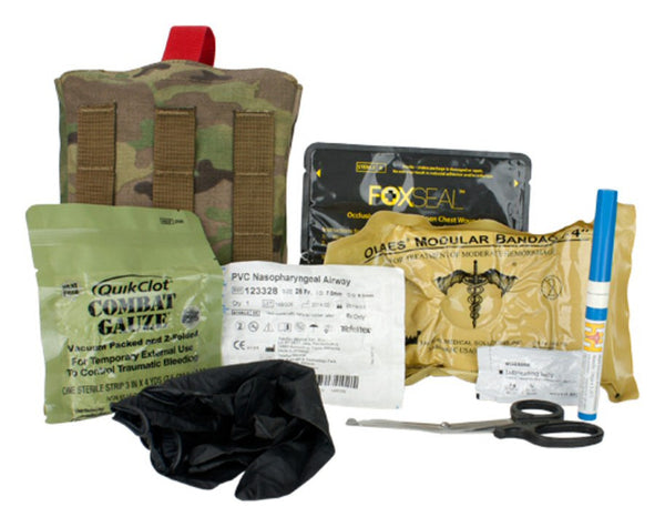 TacMed Adaptive First Aid Kit - full accessories view